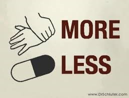 more less