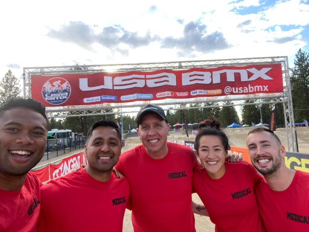 Sports Chiropractic services for USA BMX - Pro Chiro Bozeman, MT