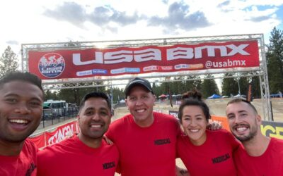Dr. Jonathan Wilhelm of Pro Chiropractic Offers Sports Chiropractic services for USA BMX